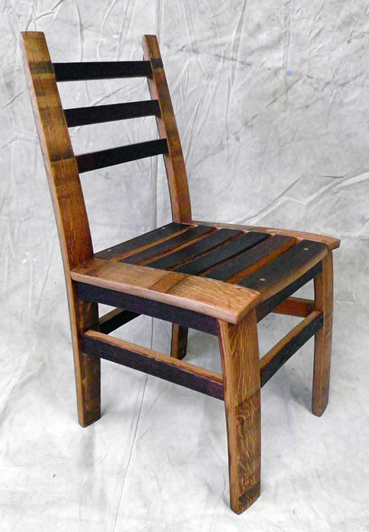 MZ3D wine barrel dining chair