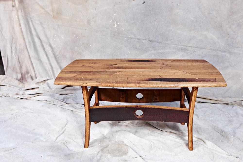 MZ3D wine barrel coffee table