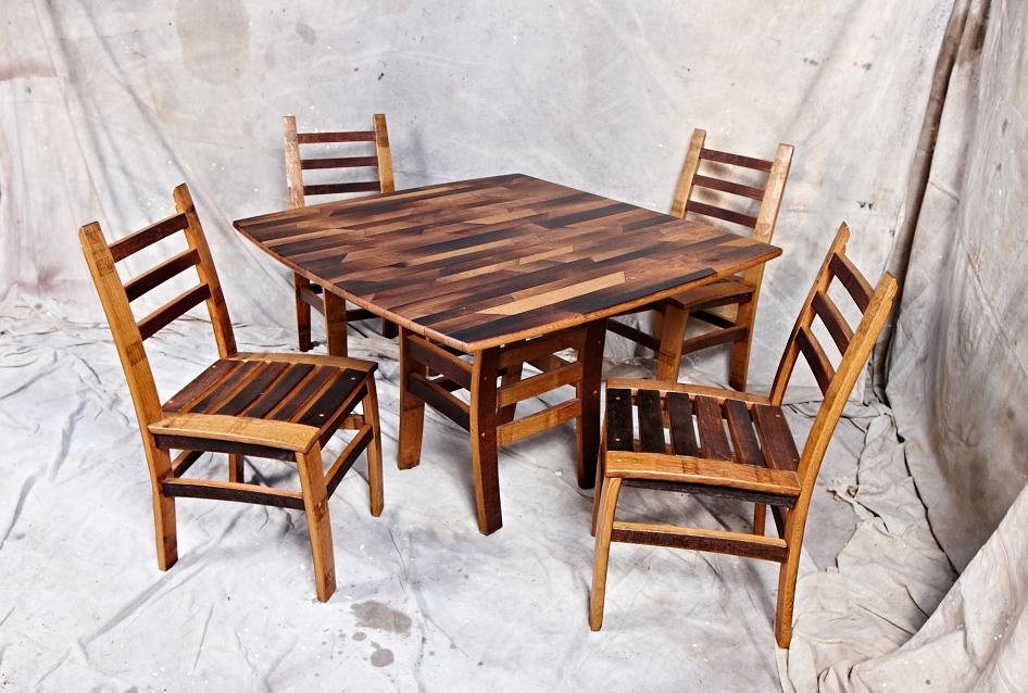 MZ3D square parquet table