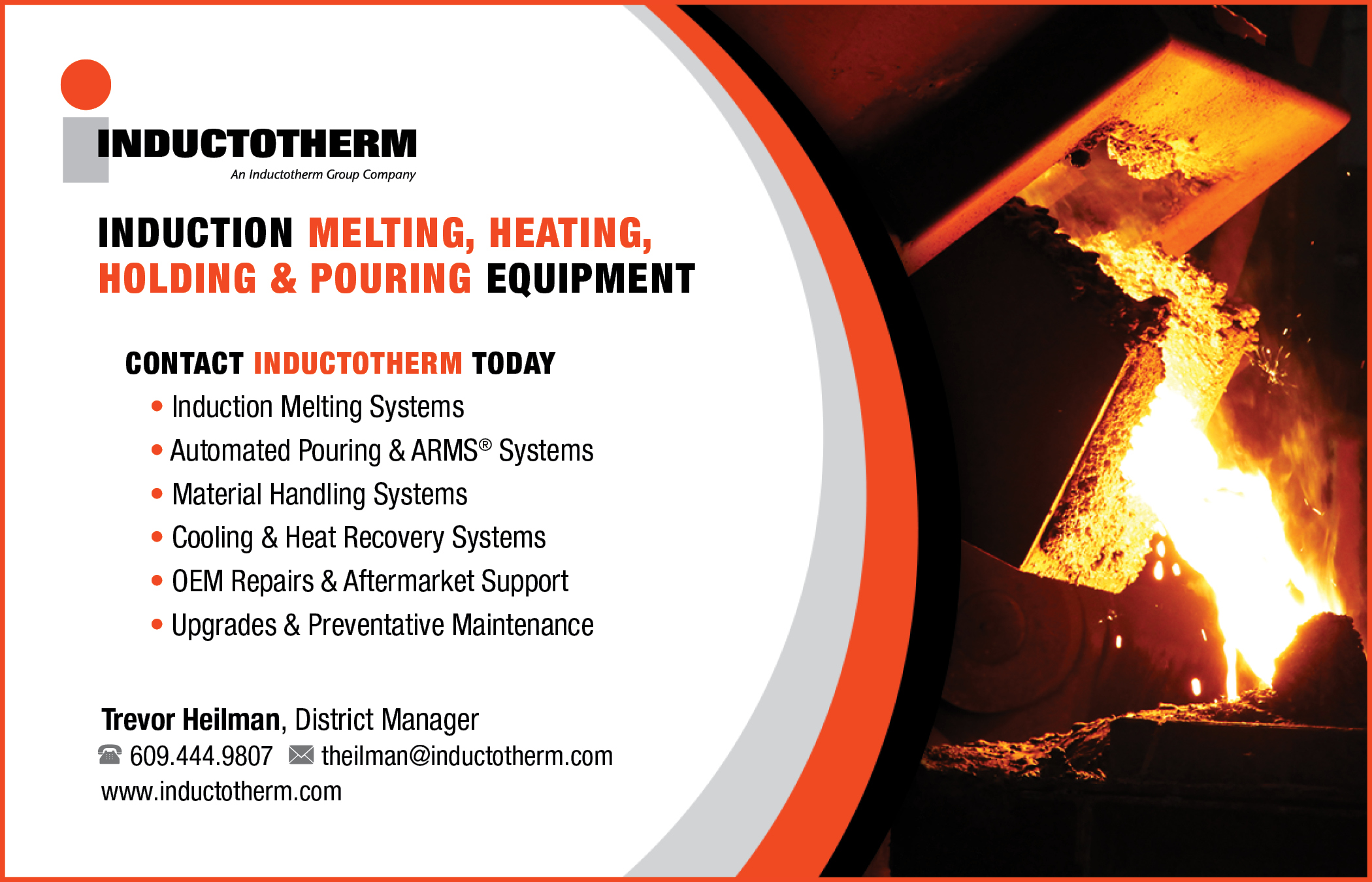 InductothermInduction Melting, Heating, Holding & Pouring Equipment609-444-9807 -