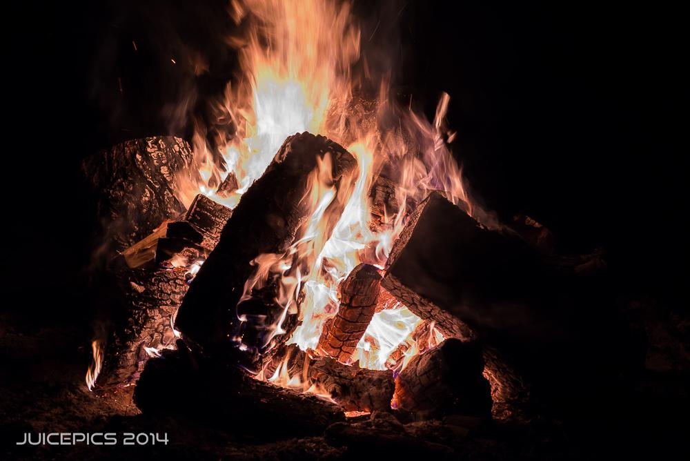 Bonfire Long Exposure