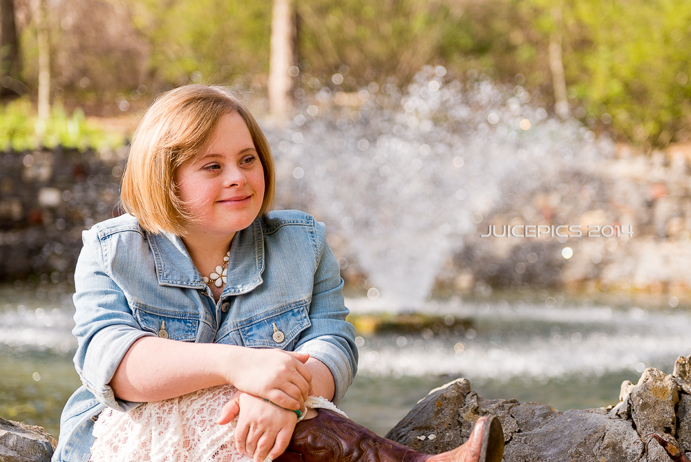 Cami by the Fountain