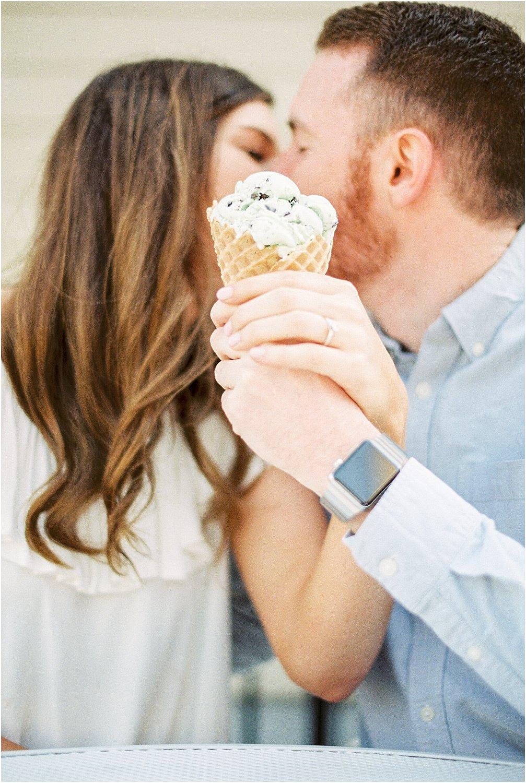 Cincinnati Schneider's Sweet Shop Engagement | Amber & Nathan | Wedding Photographer