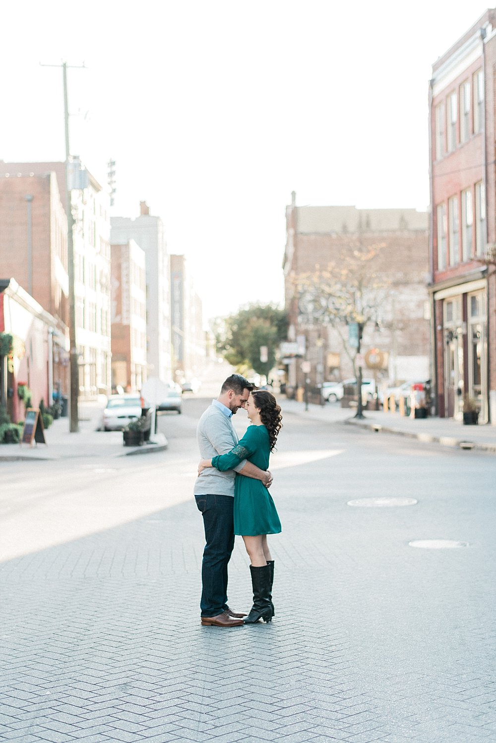 Old City Knoxville Engagement | Best places in Knoxville for Engagement Pictures | Juicebeats Photography