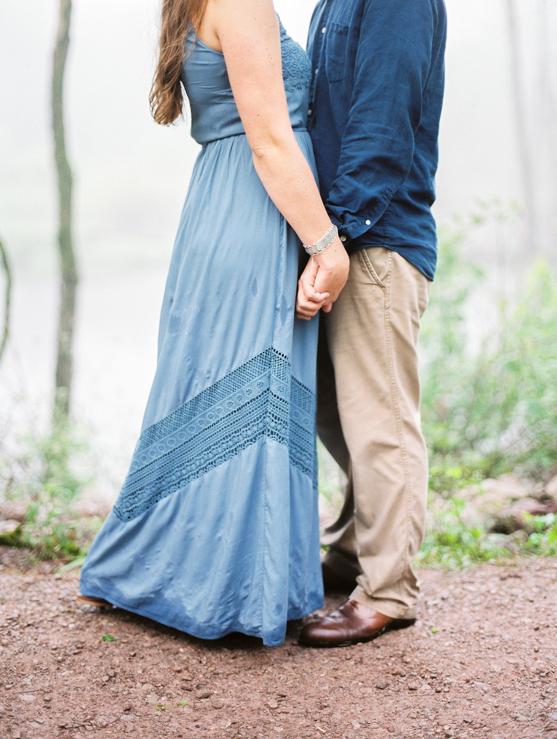 Forks of the River Sunflower Engagement | Knoxville Wedding Photographer