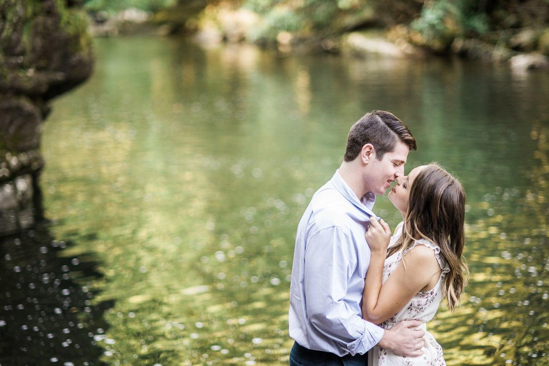 The Sinks & Gatlinburg Engagement   Emily & James