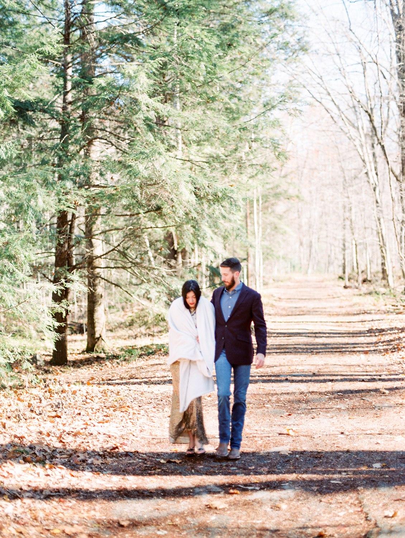 Elkmont | Spence Cabin Engagement | Stephanie & Addison