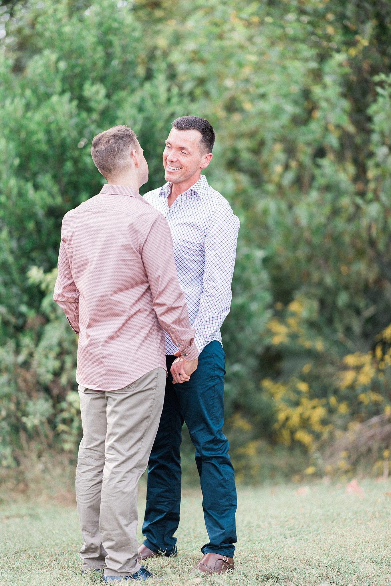 Knoxville Botanical Gardens Engagement | Cory & Matthew