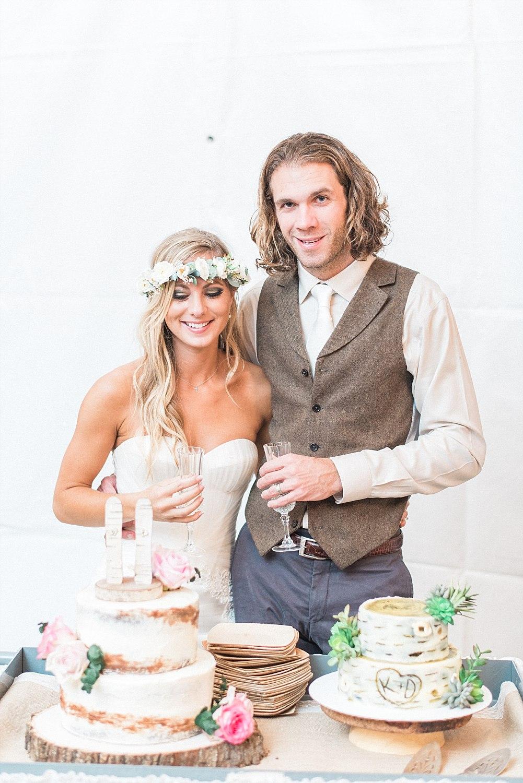 Sun Dance Farm Wedding in the stable side_Kelsie&Daniel