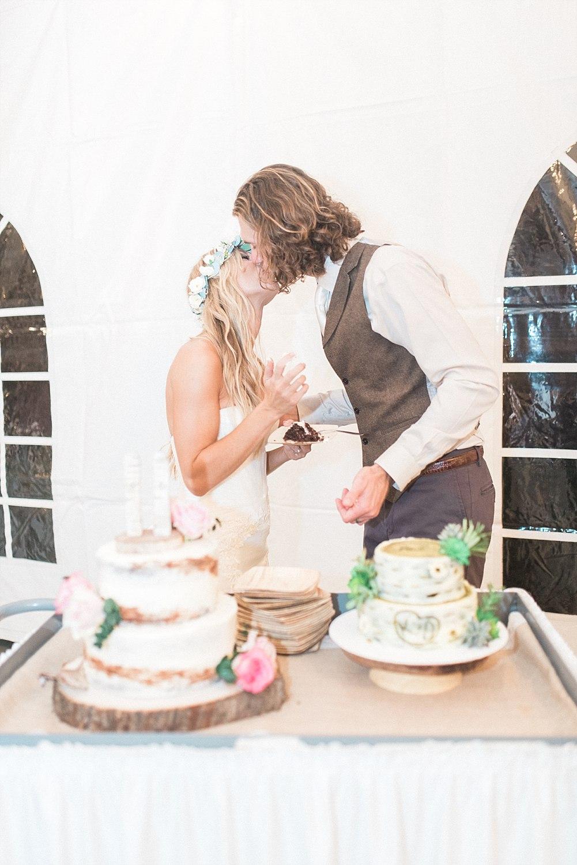 Sun Dance Farm Wedding on the stable side_Kelsie&Daniel