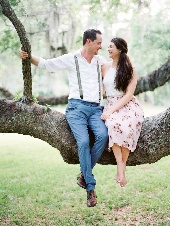 Magnolia Plantation :: Britni & Andrew   Engagements