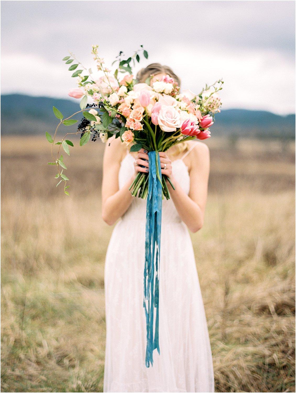 Bohemian Bridal :: Cades Cove   Editorials