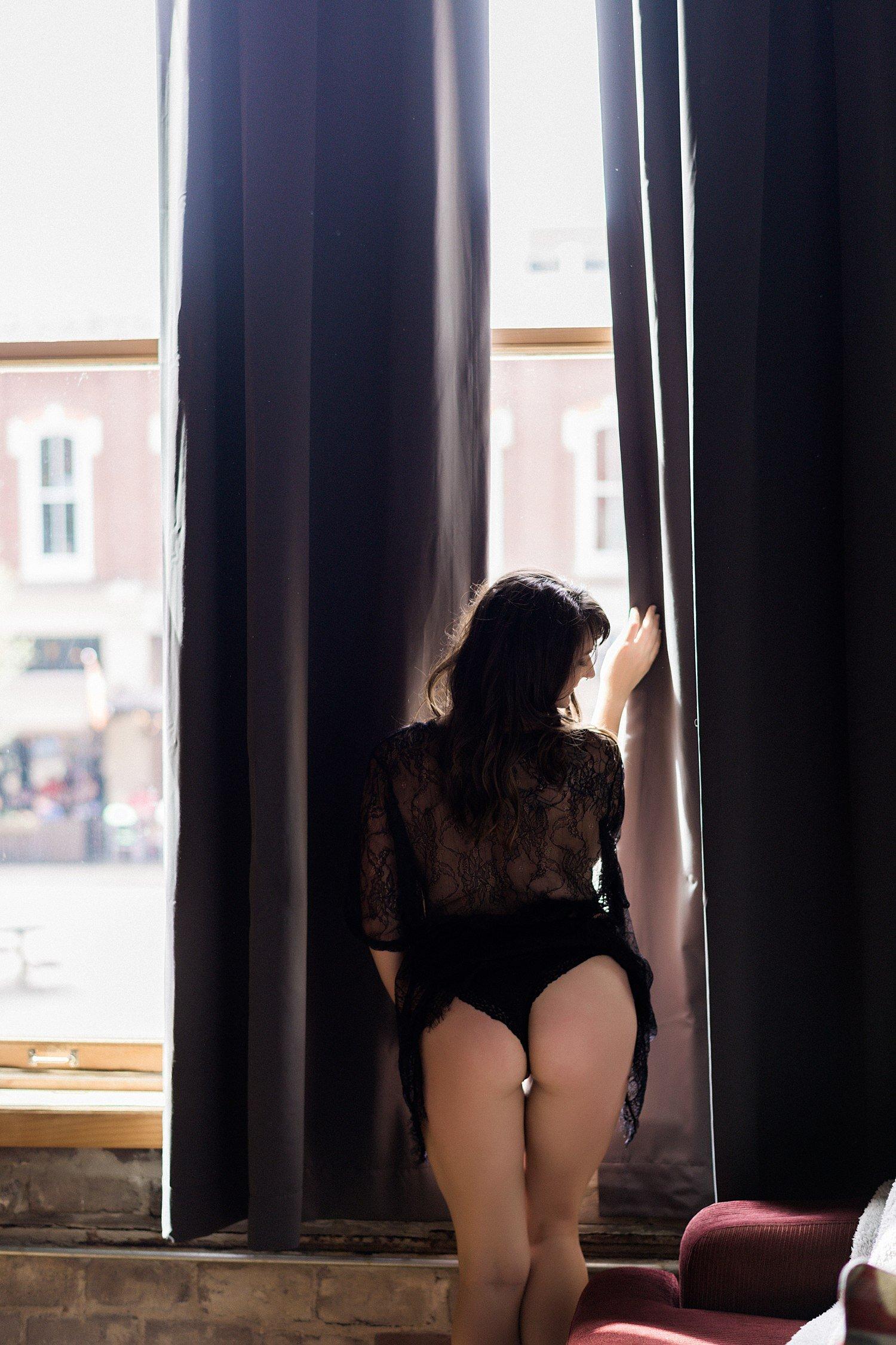 boudoir by the window