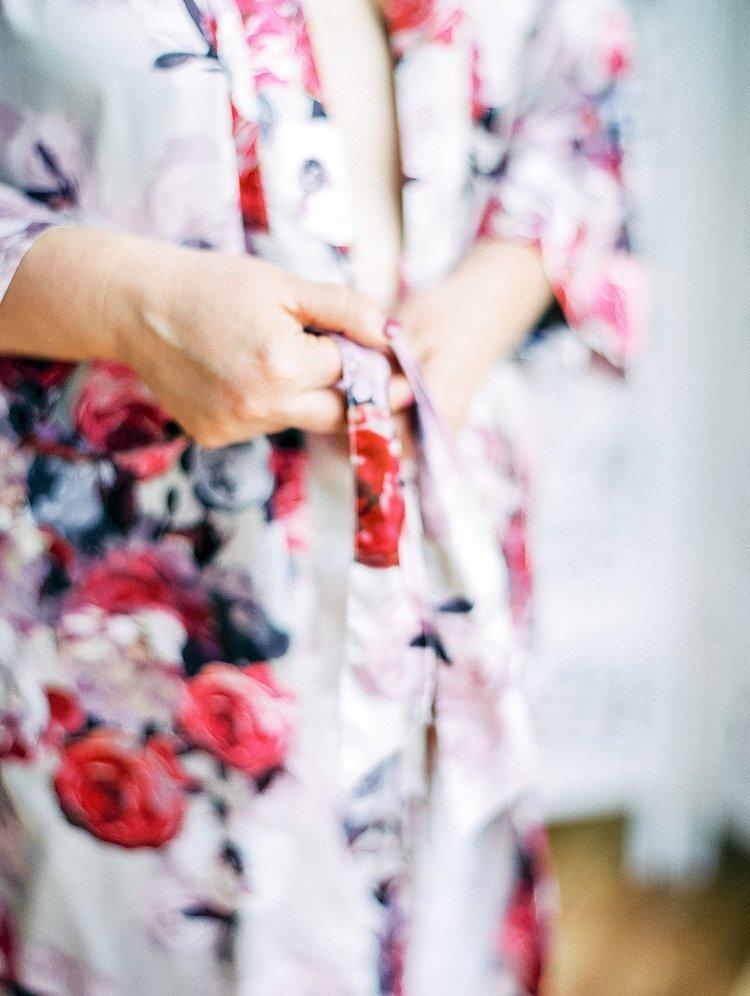 bridal robe boudoir