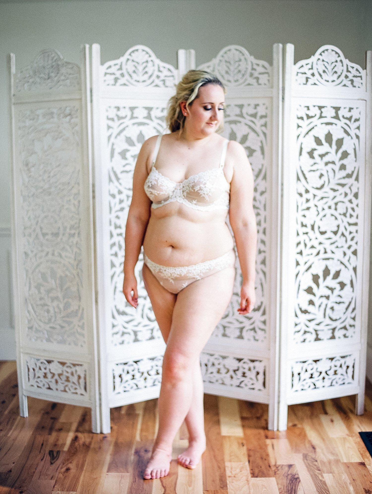 soft intimate boudoir
