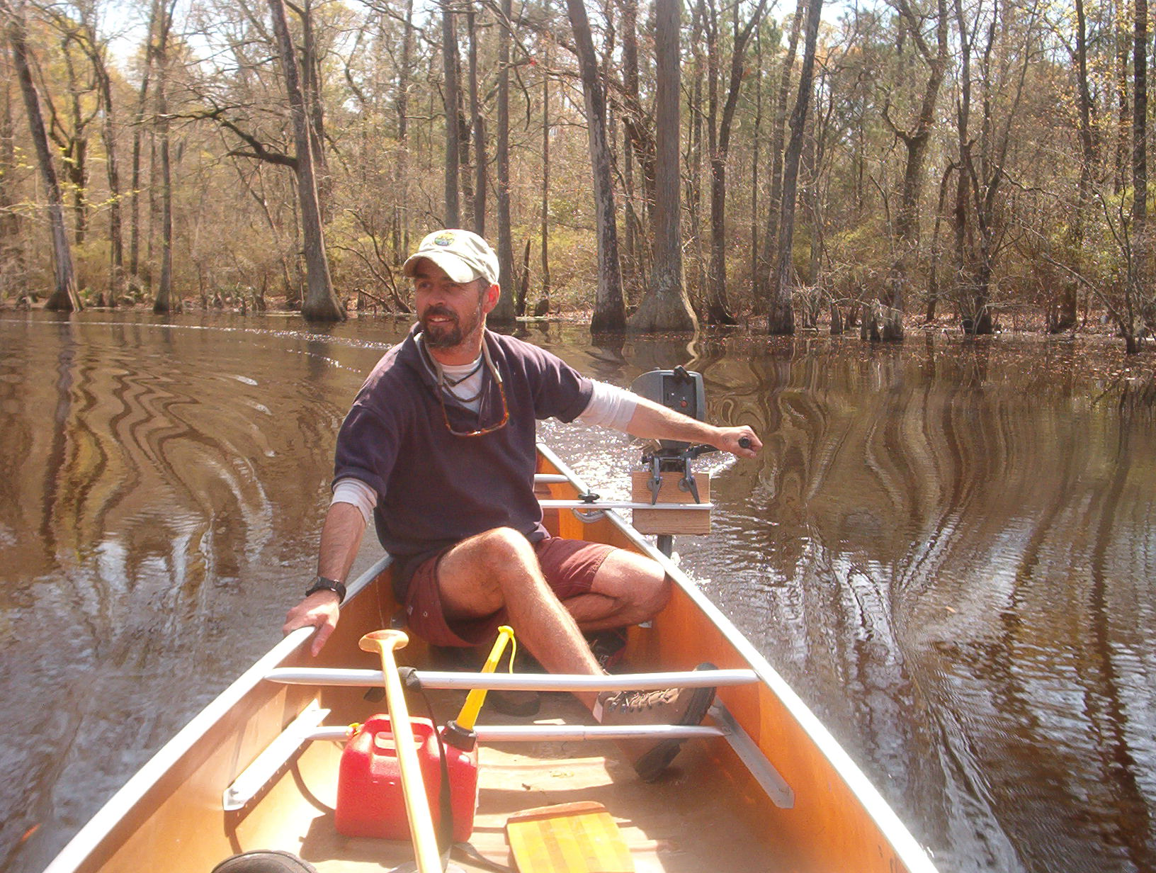 Canoeing in Georgia.JPG