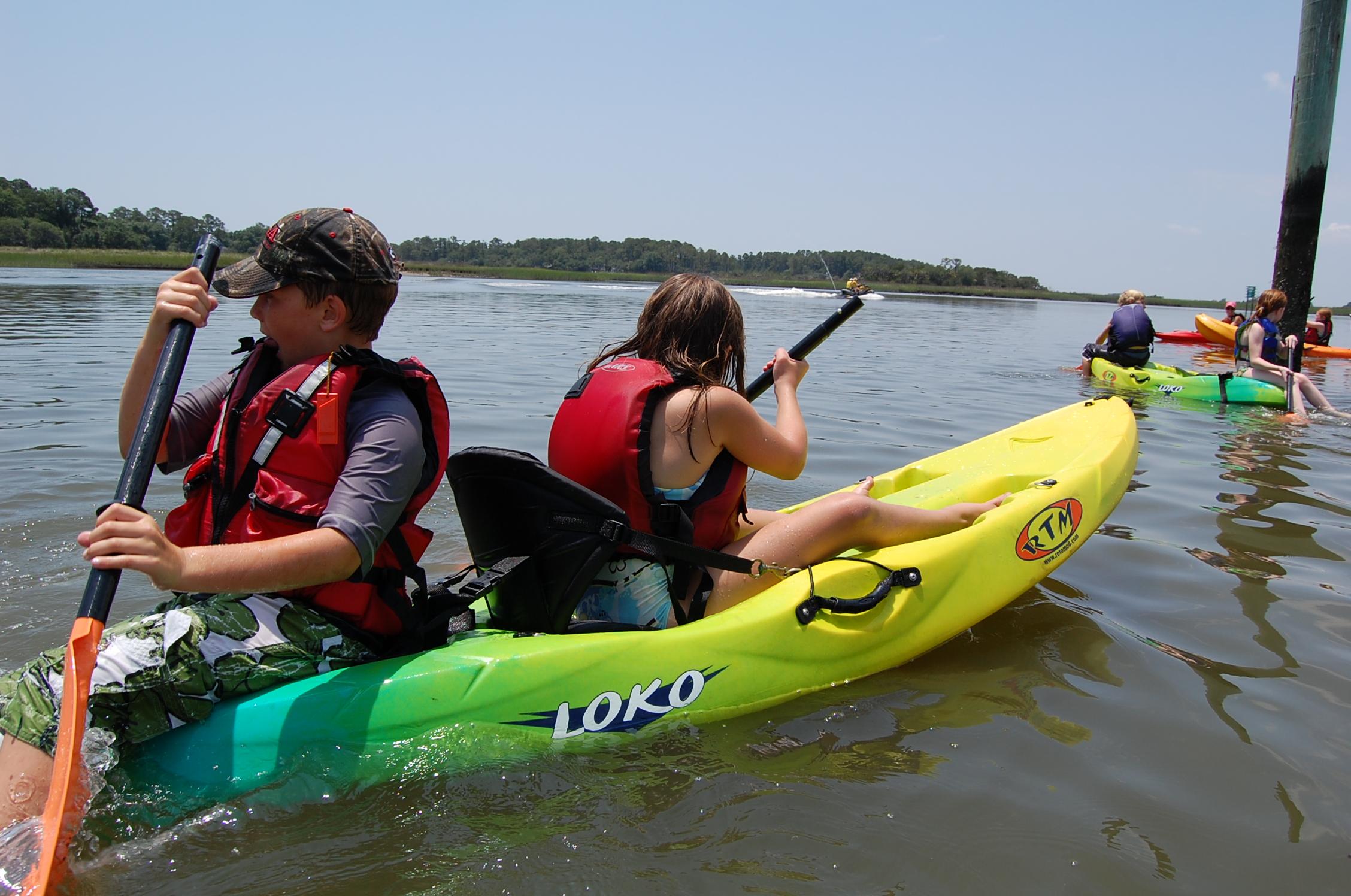 Savannah kayak camp kids.JPG