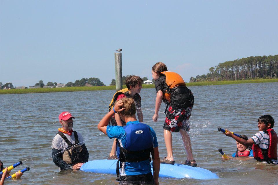Savannah sea kayak sprouts training1.jpg
