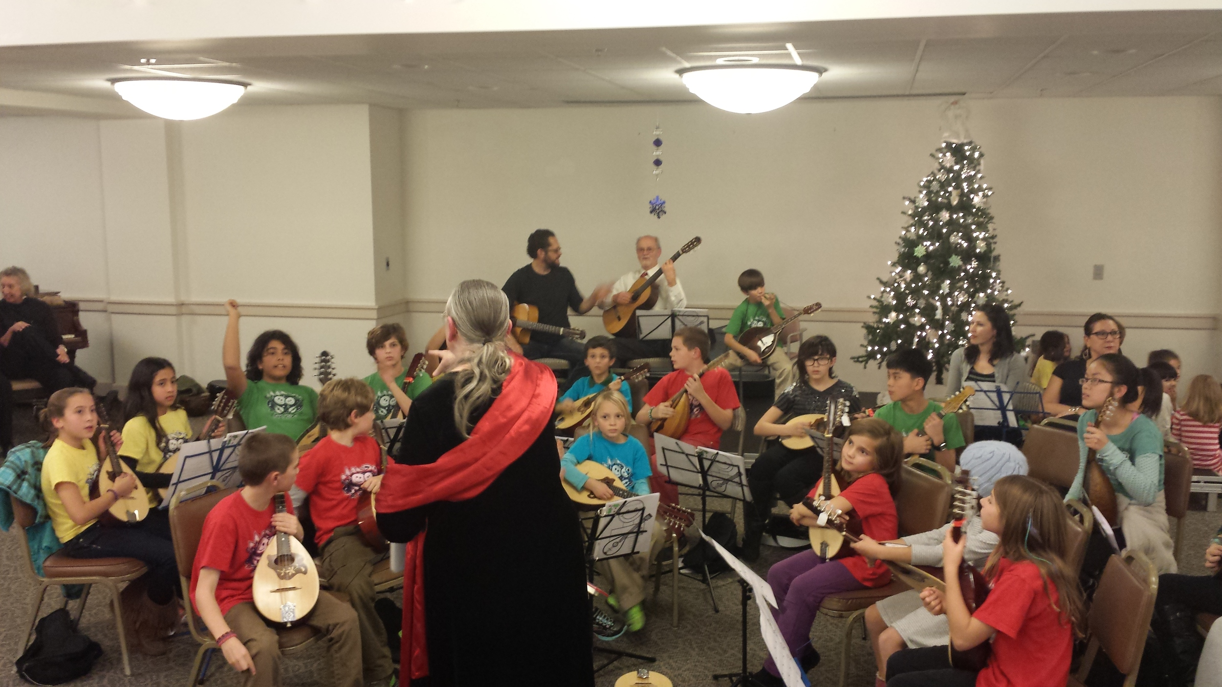 Mando for Kids students at Pickersgill in Towson, MD