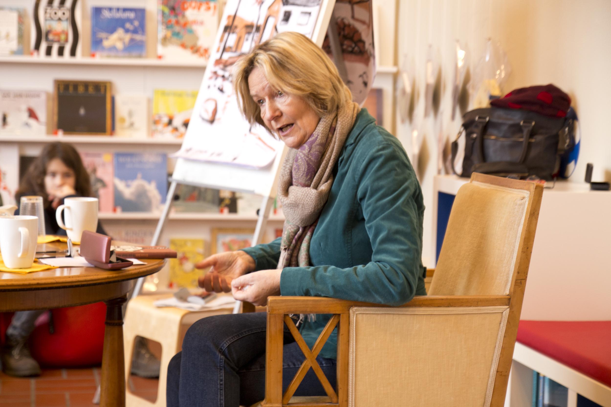 Kirsten Boie im Gespräch