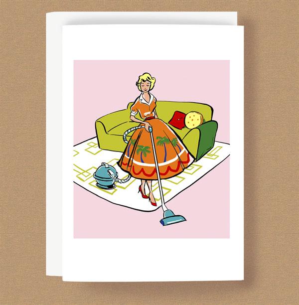 Fashionista vacuuming card w.jpg