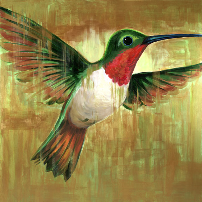"""Ruby-throated Hummingbird"""