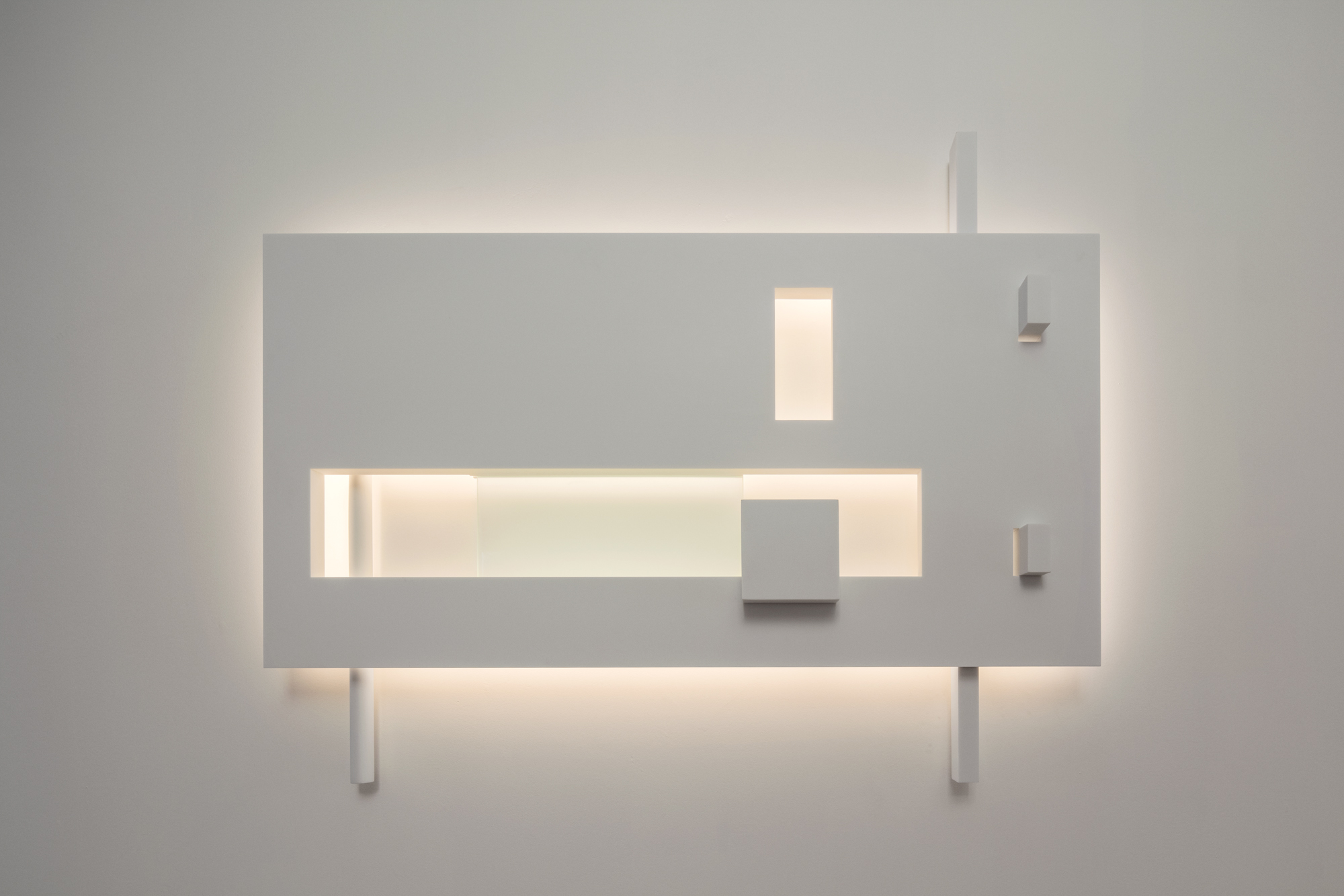 Barcelona I - Limited edition piece inspired by the Museum in Barcelona by Richard Meier