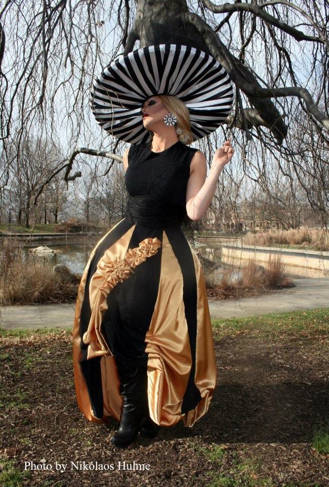 Avant-garde Dress & Hat