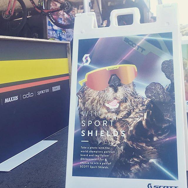 Win Sport Shields! @bikeonscott @seaotterclassic