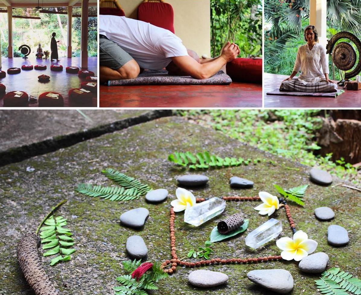 Creative meditation retreat