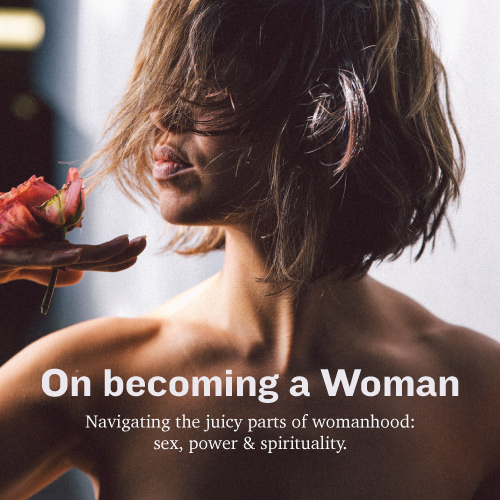 On becoming a woman by Mari Sierra