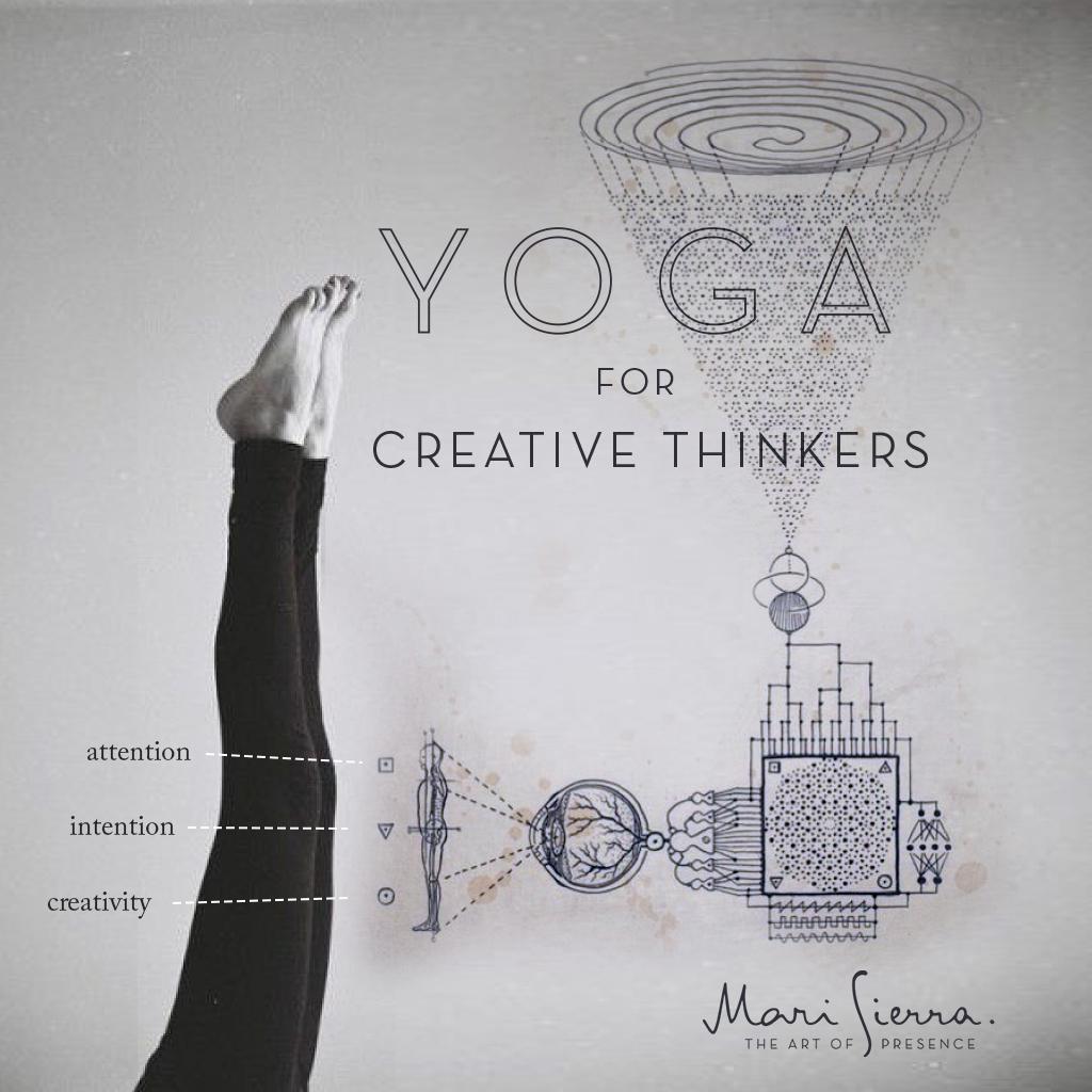 Poster designed for yoga workshops, SF 2014