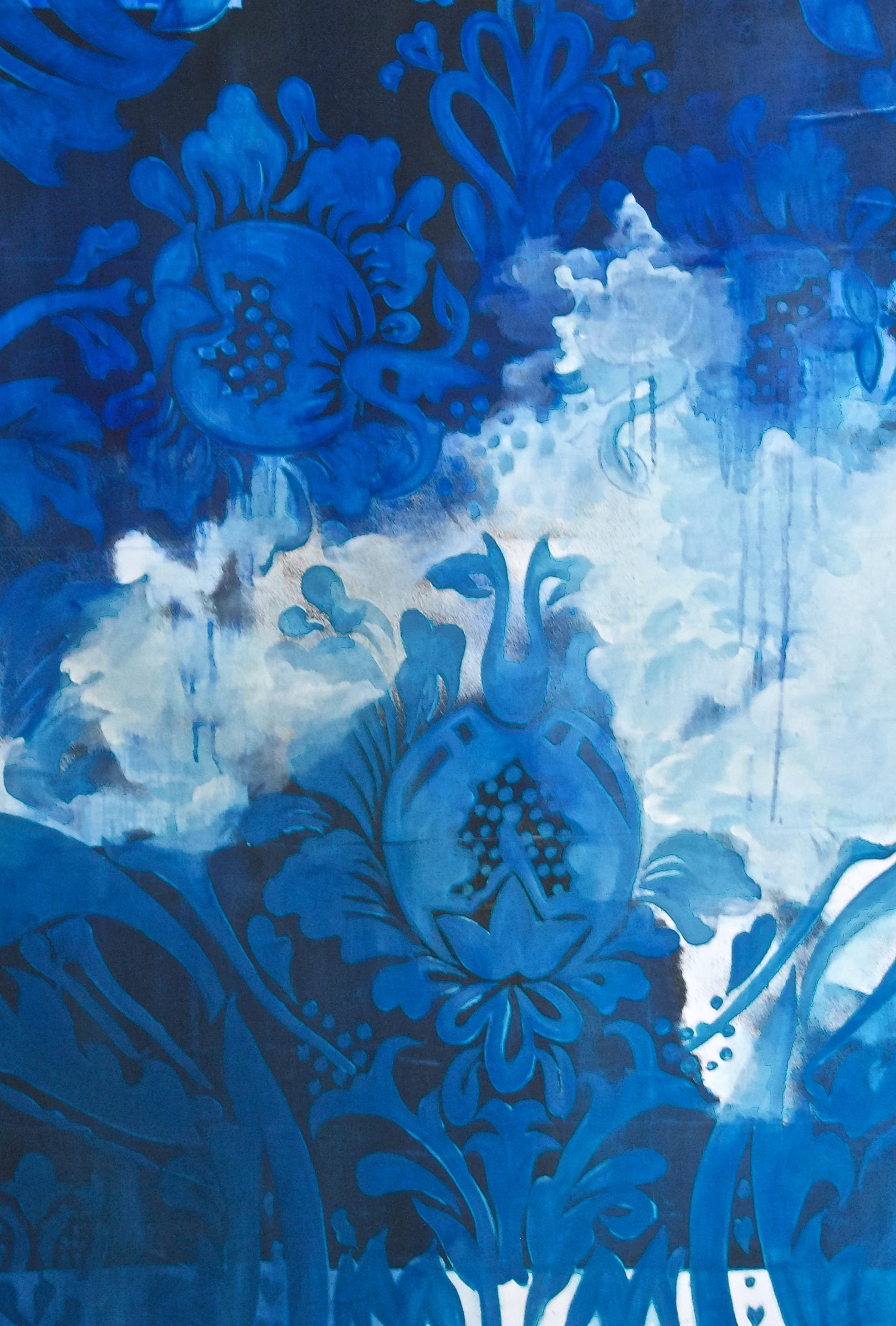 Blue Print of a Summer Storm