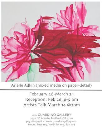 Arielle Adkin for Guardino Gallery