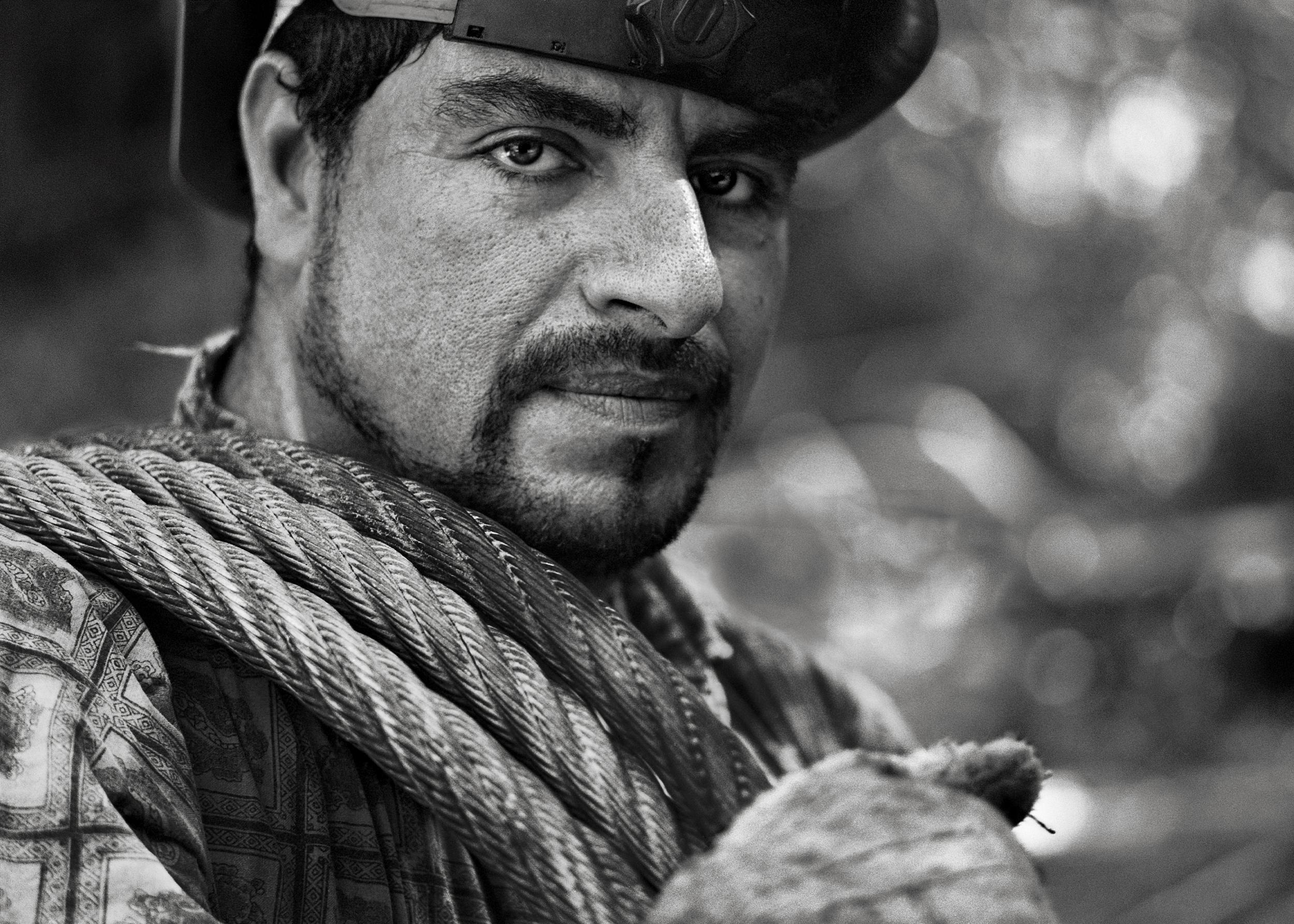 Raul Mora Avalos, Hook Tender, Fort Bragg, CA 2004