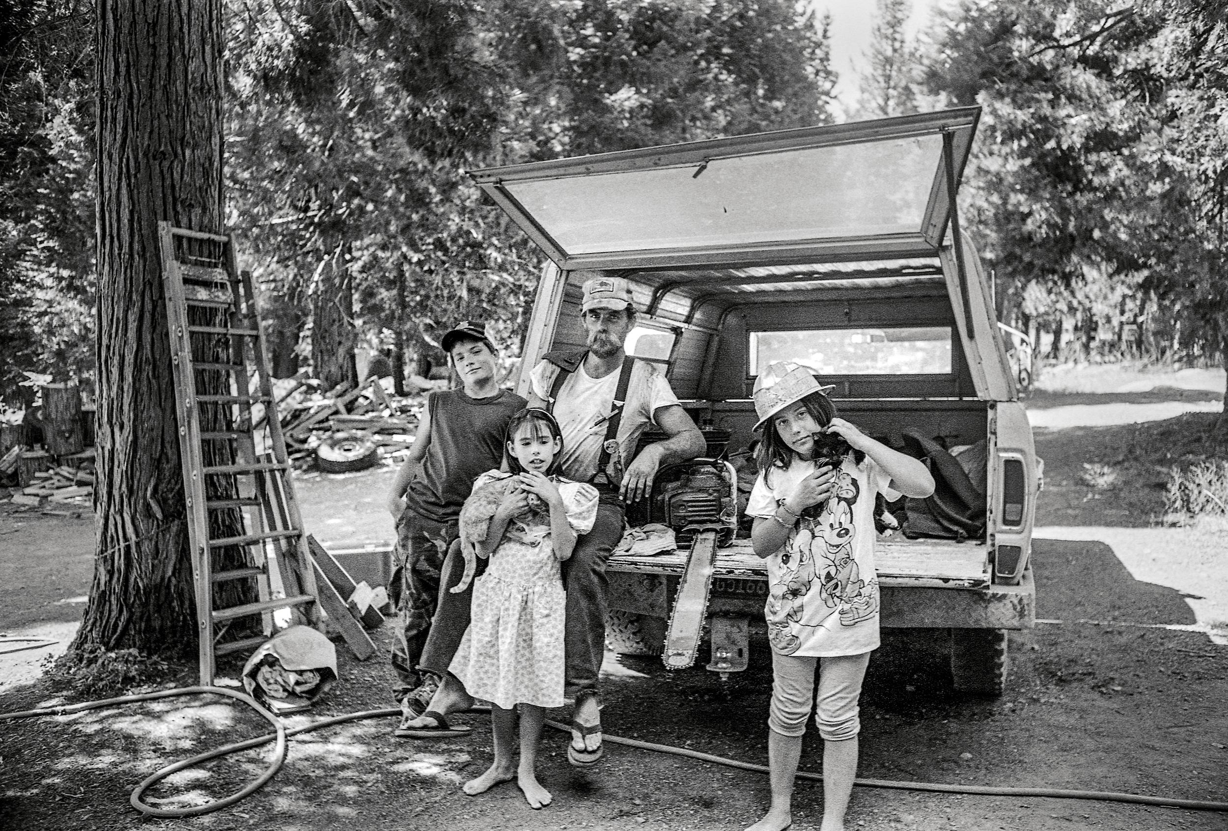 Jim Nelson Family, 1988
