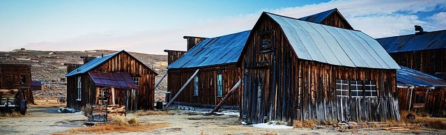 Bodie State Historic Park, CA (Former mining town and Vernacular Landscape). Photo Courtesy of parks.ca.gov