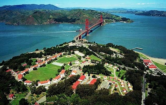 San Francisco Presidio (Historic Site/ Designed landscape). Photo Courtesy of sf. Funcheap.com