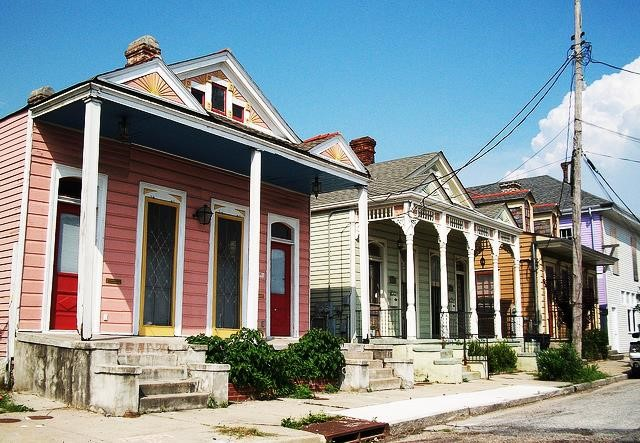 Faubourg Treme neighborhood, New Orleans (Ethnographic Landscape, Vernacular Landscape, Designed Landscape, and Historic Site). Photo Courtesy of AmericanBluesScene.com