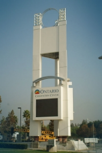 Sign and tower element