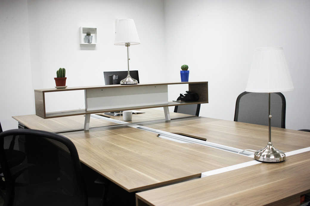 - Dedicated Desk Membership - $375/Month, 24/7 Access, Assigned Private Seat, Locker