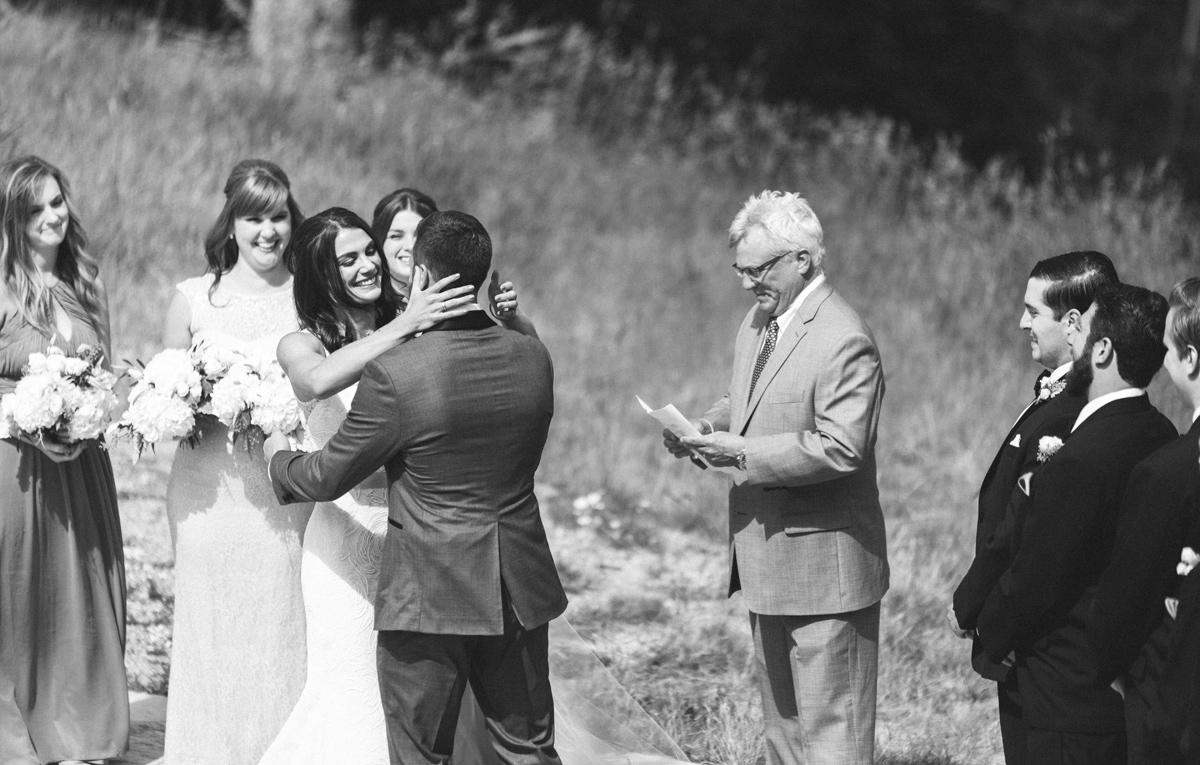 315-beaver-creek--mountain-top-wedding--first-kiss--black-and-white.jpg