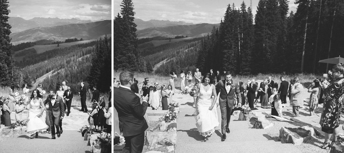 321-beaver-creek--mountain-top-wedding--recessional--black-and-white.jpg