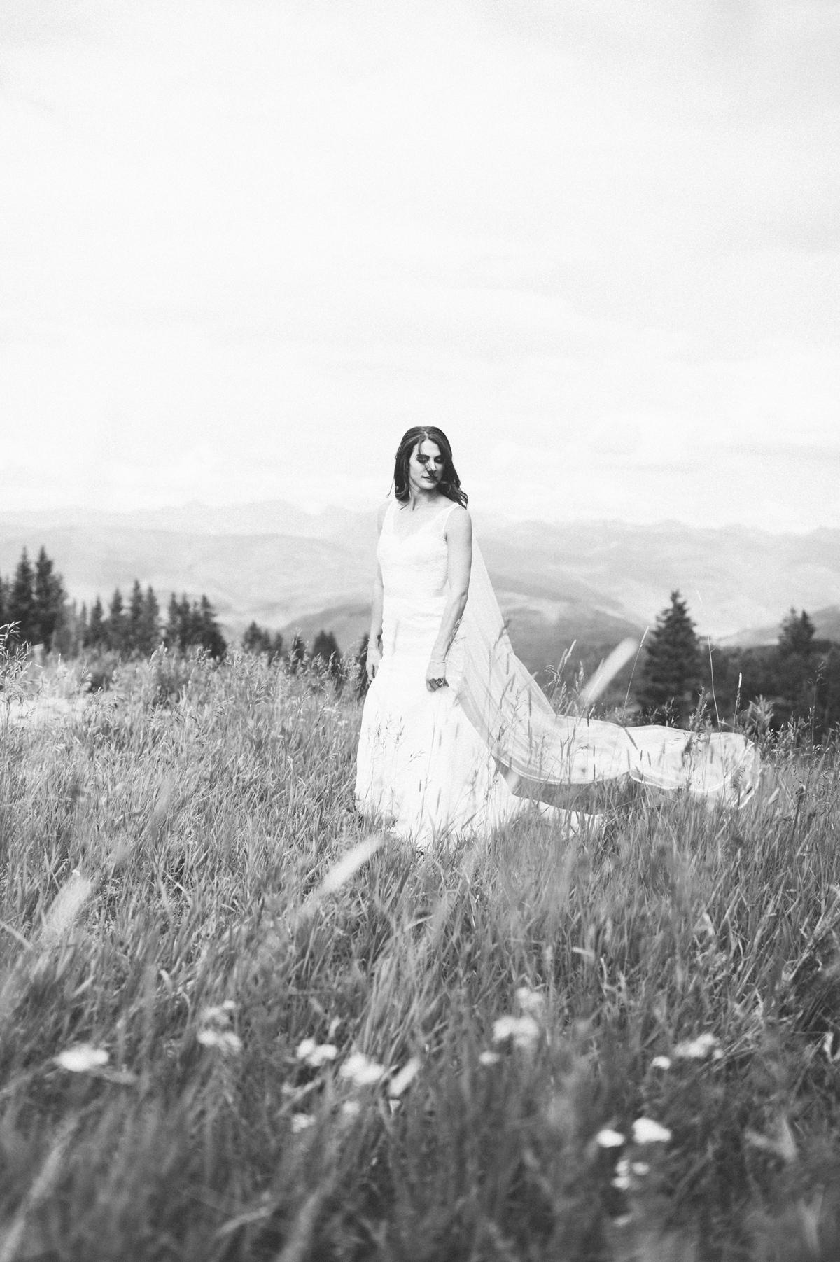 359-beaver-creek--bride--portrait--mountain-top--black-and-white.jpg