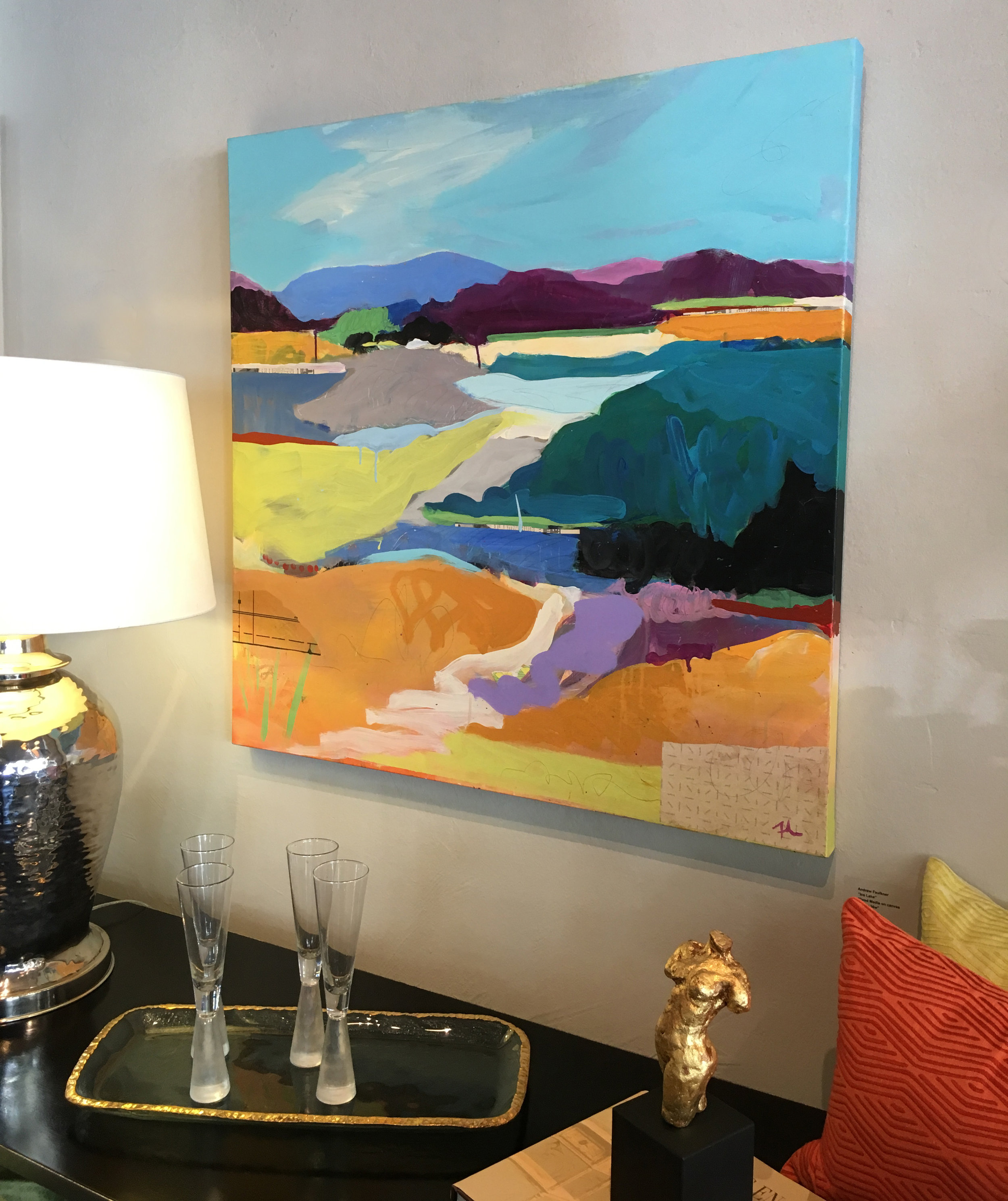 """Angel island Two"" at Ruby Living, Mill Valley"