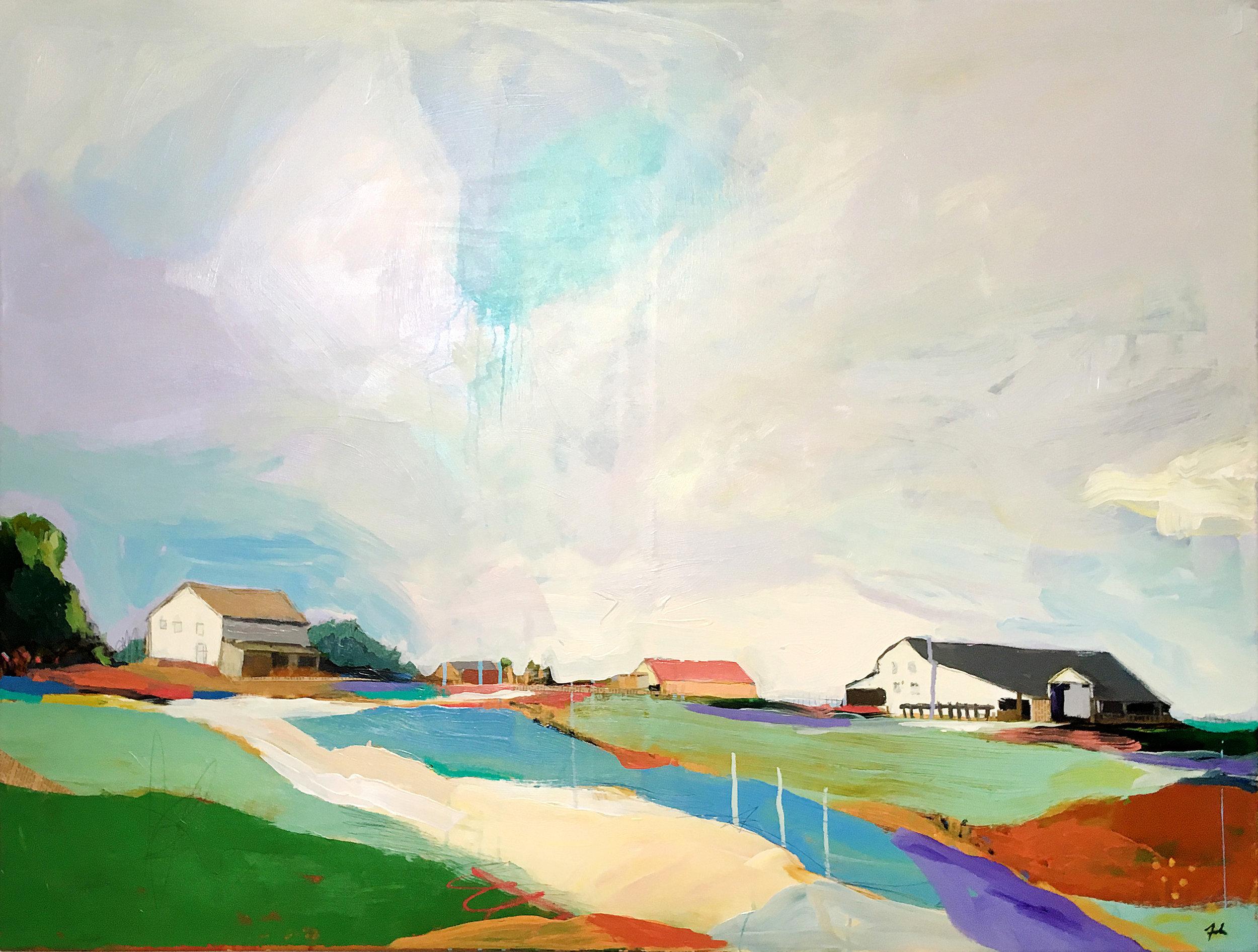 (SOLD) Farmscape II
