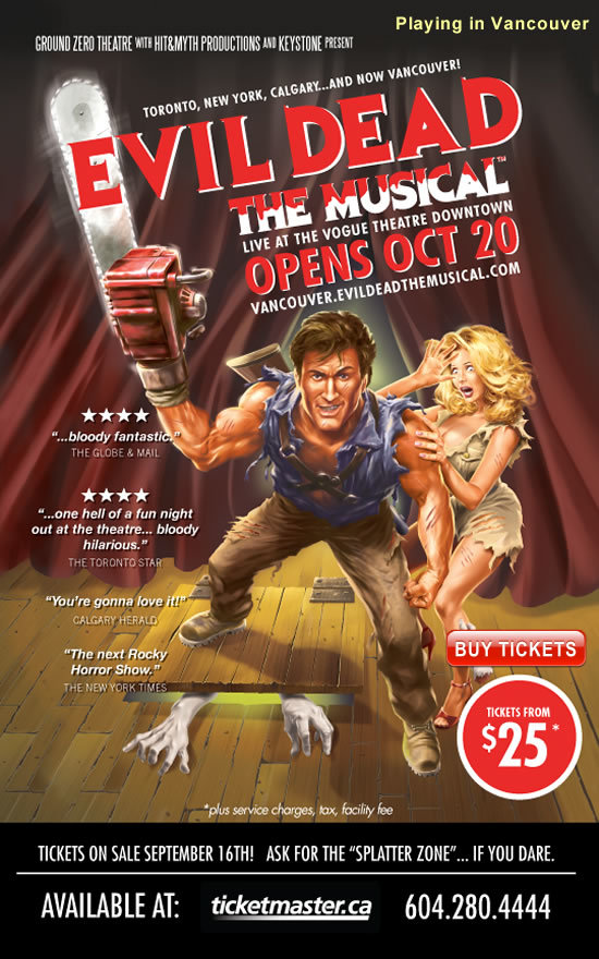 EVIL DEAD THE MUSICAL - Ground Zero Production