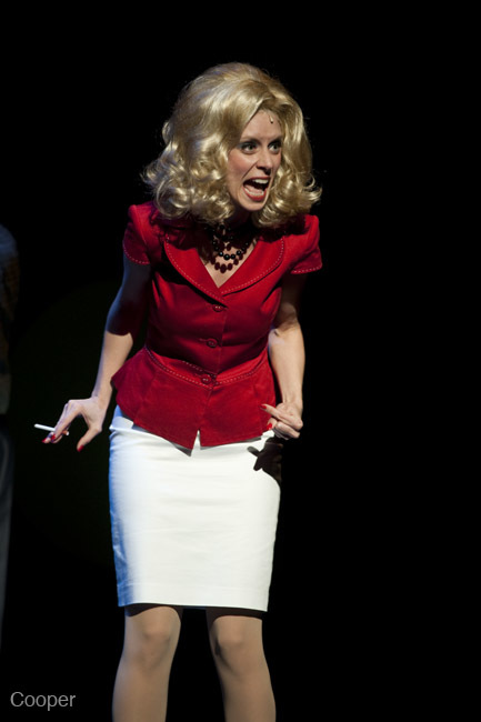 "Velma Von Tussle in ""Hairspray! The Musical"" (Arts Club Theatre)  *Photo by David Cooper"