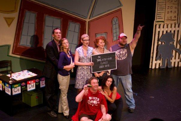 "Cast of ""Nursery School Musical"" (Fence Post Productions)  *Photo by Racheal Mccaig"