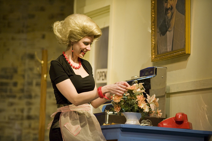 """Audrey in """"Little Shop of Horrors"""" (Persephone Theatre)  *Photo by Peter Christensen"""